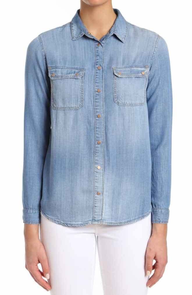 Mavi Sammy Indigo Gold Denim Shirt