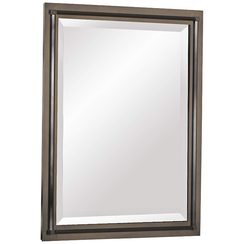 Framed Smoked mirror