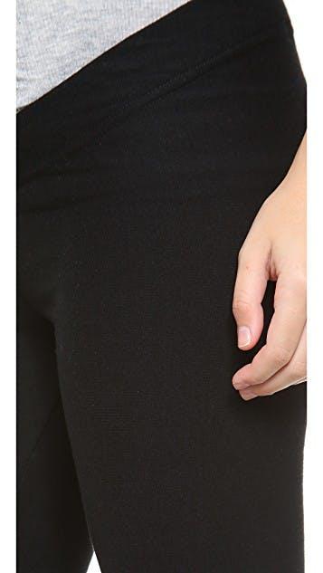 Fleece Maternity Leggings