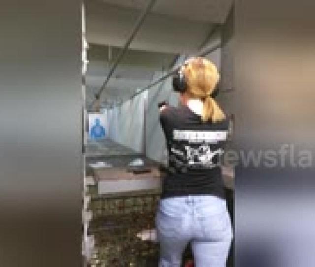 Newsflare Edit Small Redhead German Cajun Wife And Baretta 92fs Rap