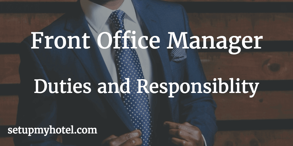 Front Desk Receptionist And Security
