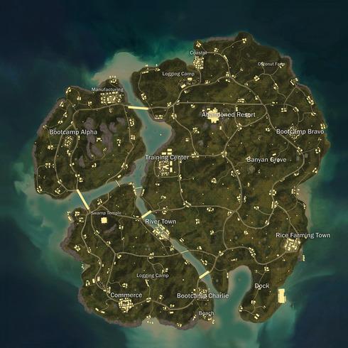 Image result for Sanhok- The New PUBG Map