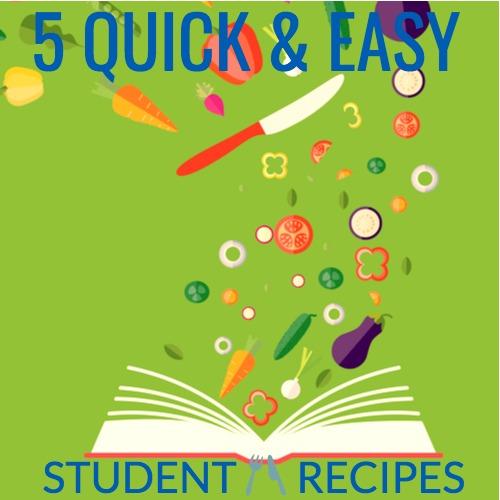 student recipes