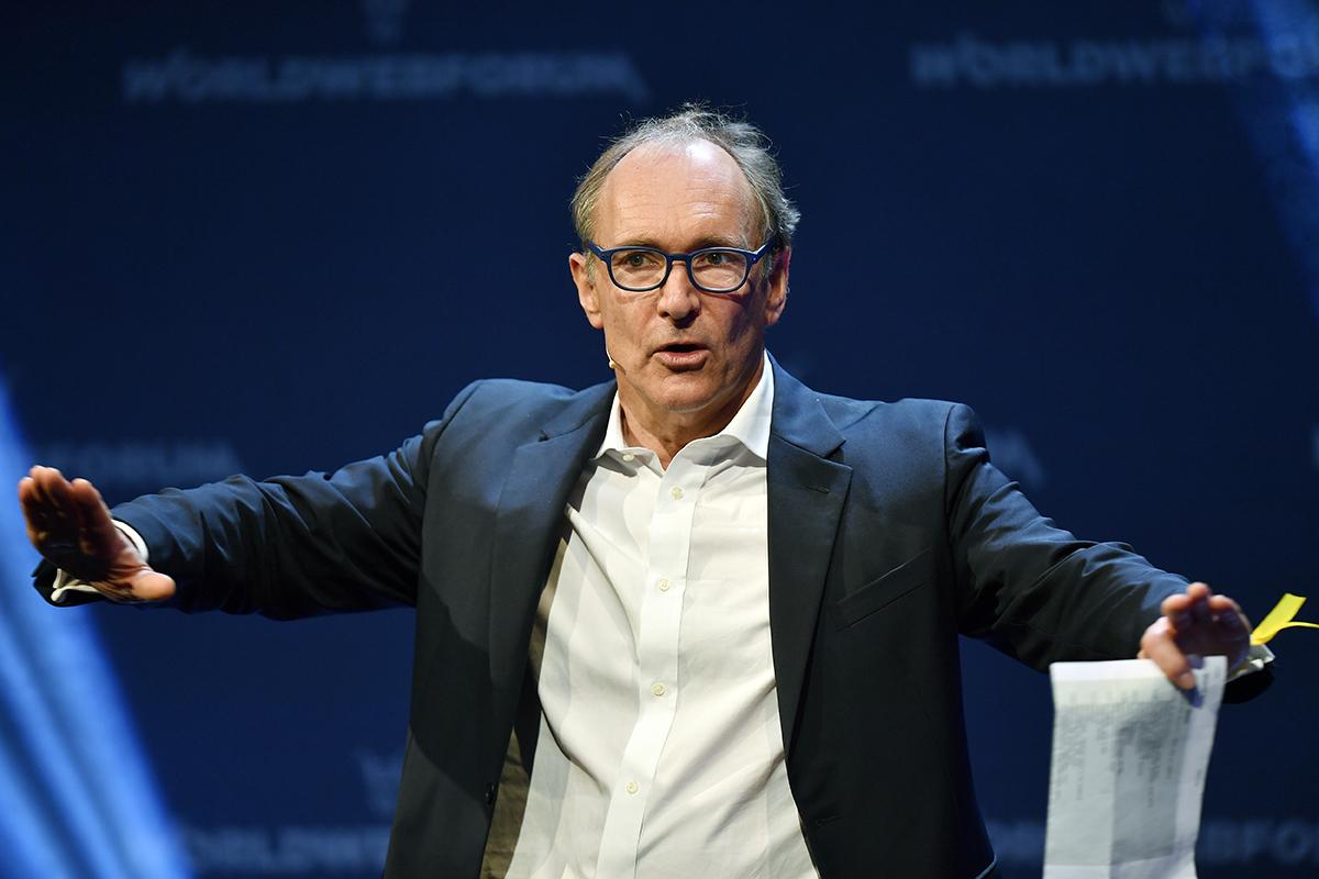 Web Creator Tim Berners Lee Speaks Out On Fake News