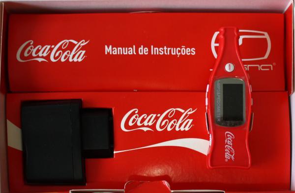 Coke Player Coca-Cola Brasil - MP3, Pedômetro/contador