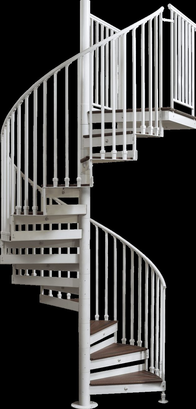 Discover The Ultimate Staircase Alternative Trex Spiral Stairs | Iron Shop Spiral Stairs | Attic Loft | Victorian | Loft Staircase | Elk Grove | Staircase Kits