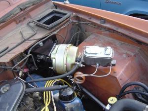 Power Brake Kit  No Modify Conversion wDisc Brake Lines  Toms Bronco Parts