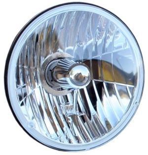 H4 Halogen Conversion Headlight, each  Toms Bronco Parts