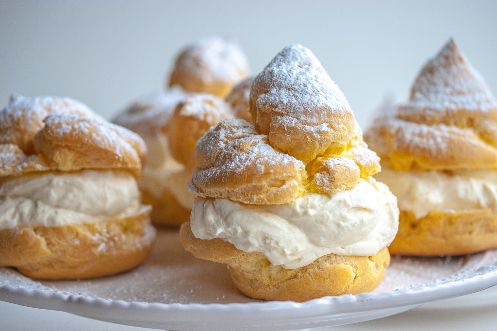 Image result for cream puffs