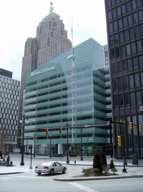 One Kennedy Square Detroit Skyscraper