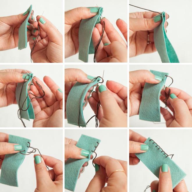 Como fazer o ponto cobertor!