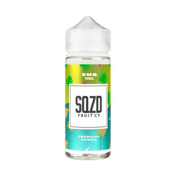 SQZD – Tropical Punch (100ml Shortfill)