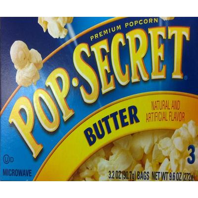 bag of kirkland microwave popcorn