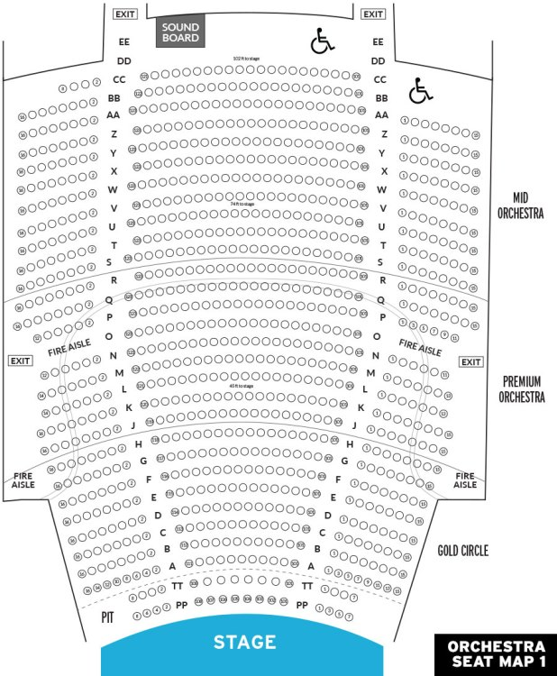 Vogue Theatre Seating Chart Today S Deals