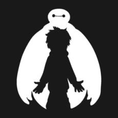 Big Hero 6 - White icone Shirts  Design by KuroStars