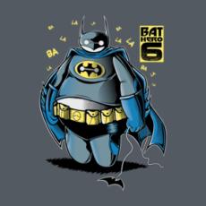 BAT HERO 6 Shirts  Design by FernandoSala The Bat robotic hero, has it come to Gotham City in his sweet appearance hides a robot pitilessly for the villains! ... Or not? ... ba la la la la