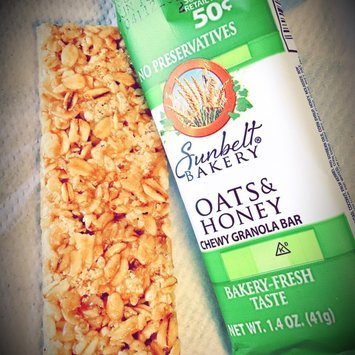 McKee Foods Sunbelt Bakery Oats Honey Big Chewy Granola