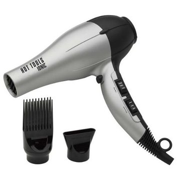 Hot Tools Black And Silver Ionic Hair Dryer HT1029SB