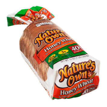 Nature39s Own Enriched Bread Honey Wheat Reviews Find the