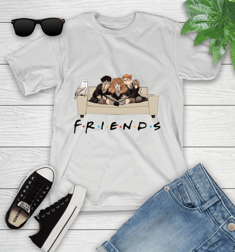 Harry Potter Ron And Hermione Friends Shirt Youth T-Shirt