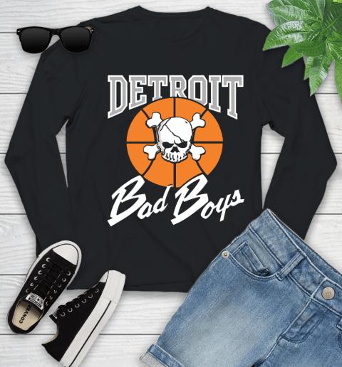 Detroit Bad Boys Youth Long Sleeve
