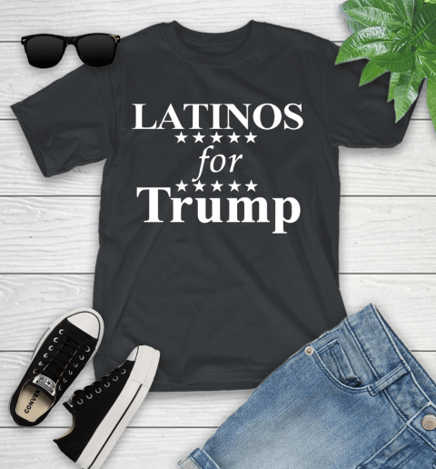 Latinos For Trump Youth T-Shirt