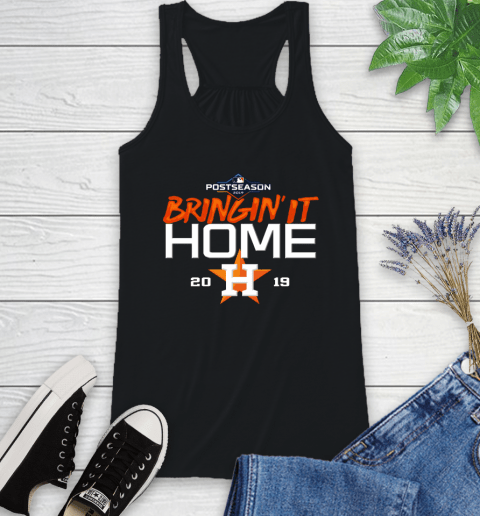 Bringing It Home Astros Racerback Tank