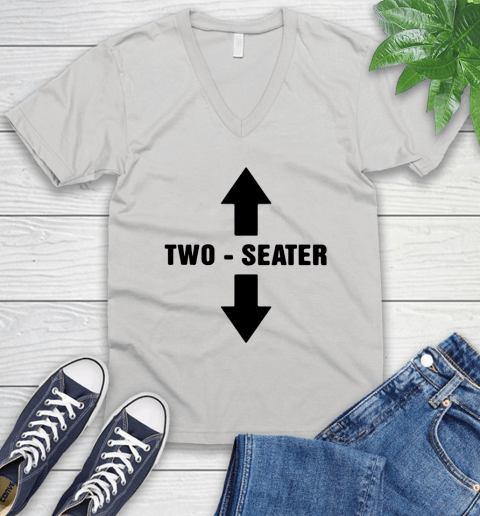 Two Seater V-Neck T-Shirt