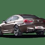 Bmw M6 Gran Coupe F06 2018 Evolution Line Titanium Akrapovic Car Exhaust