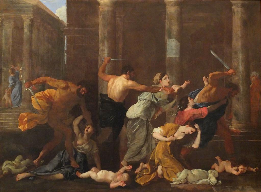 Nicolas Poussin: matanza de los inocentes