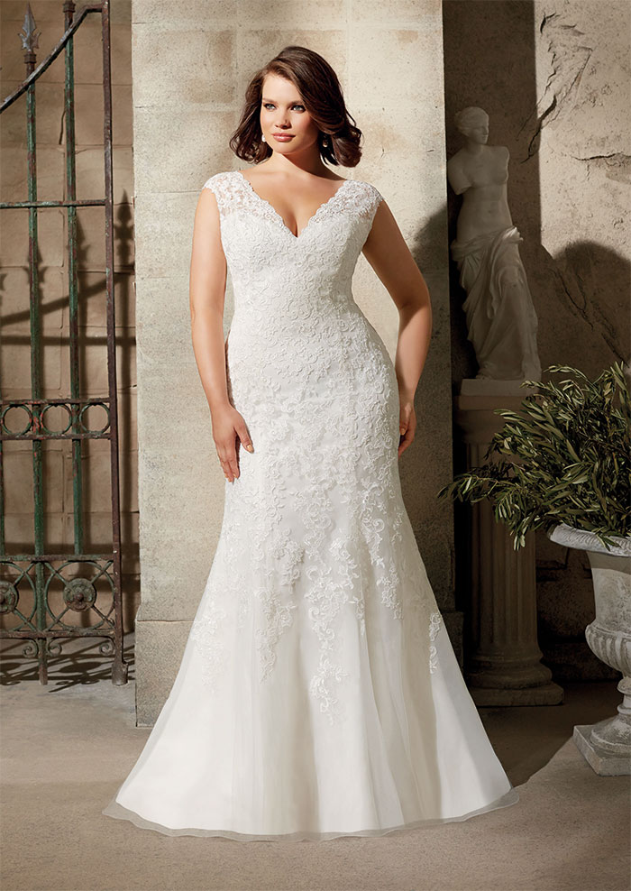 85ce6300b6b8 Amazing plus size wedding dress designers stocked in Scotland