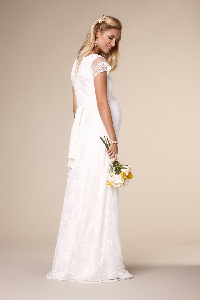 Tiffany Rose nursing wedding dress a great solution for ...