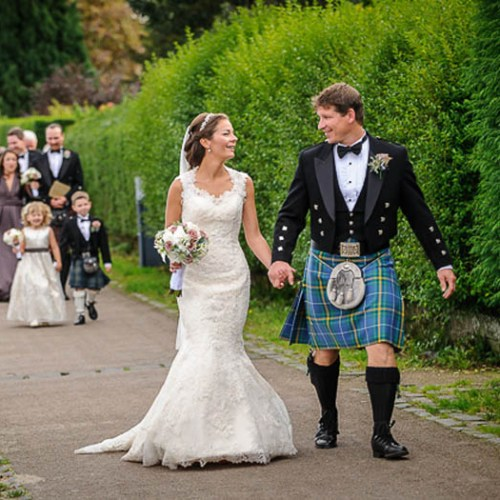 scottish wedding
