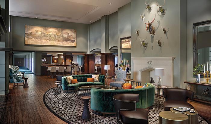 Fairmont St Andrews - Renovated Lobby