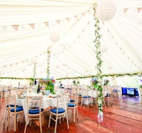 planning a marquee wedding