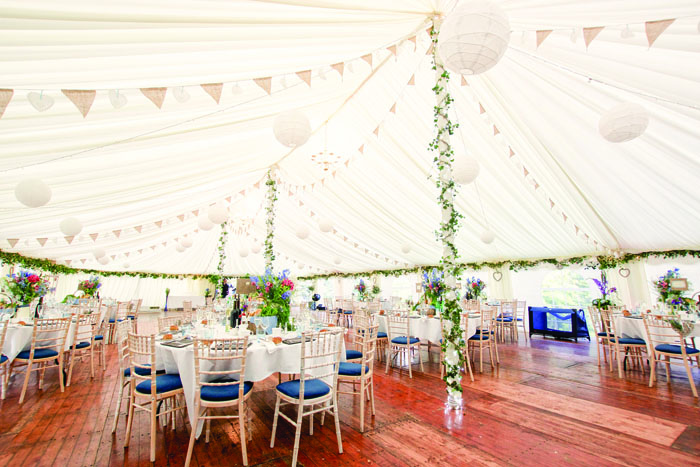 marquee wedding scotland