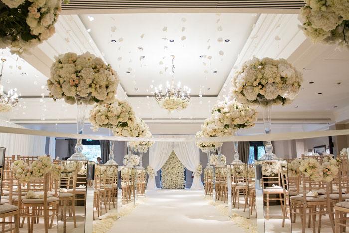 wedding flower suspensions