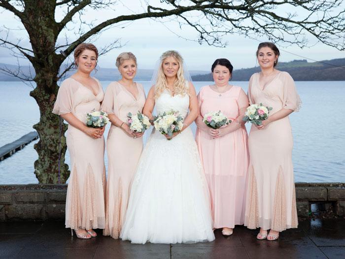 bridesmaid wedding flowers