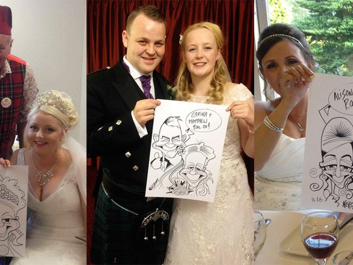 Unique wedding favours
