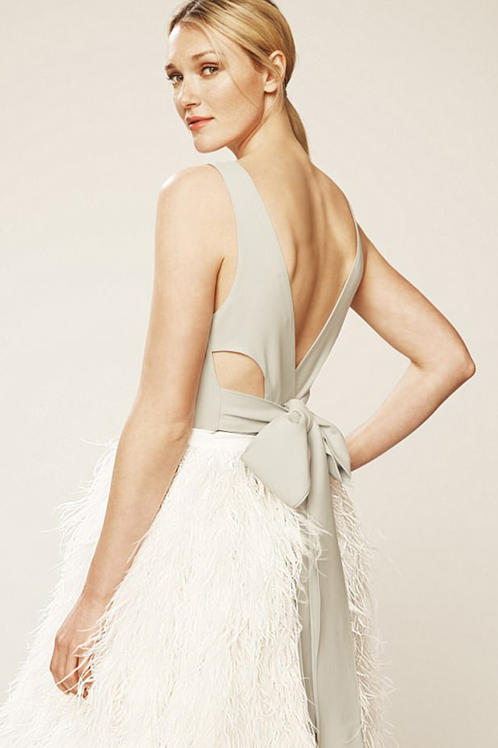 30bbcb8ea Sarah Jessica Parker has launched a new bridal collection with Gilt