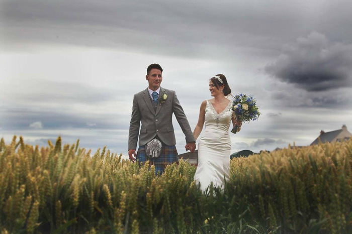 countryside wedding Runningburn