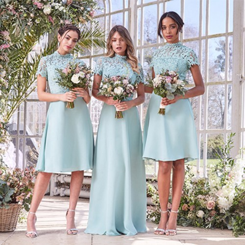 high street bridesmaid