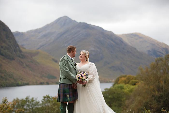 The Beautiful Scottish Highland Wedding Of Michelle Mcmanus And Jeff