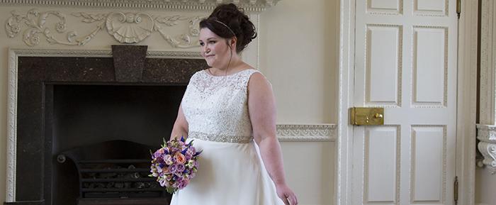 plus size wedding dress Scotland