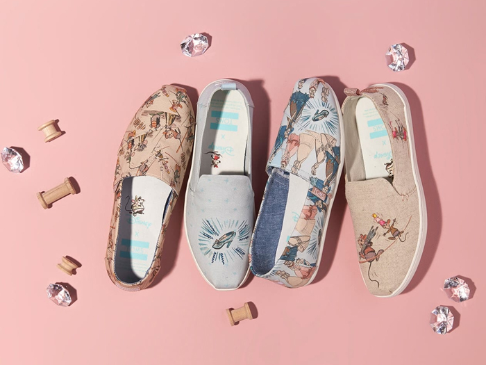 d58b7fdf0b74ac One for all you Disney fans looking for an alternative wedding shoe. The  first range of the Disney x TOMS collection has launched – and it s  seriously ...