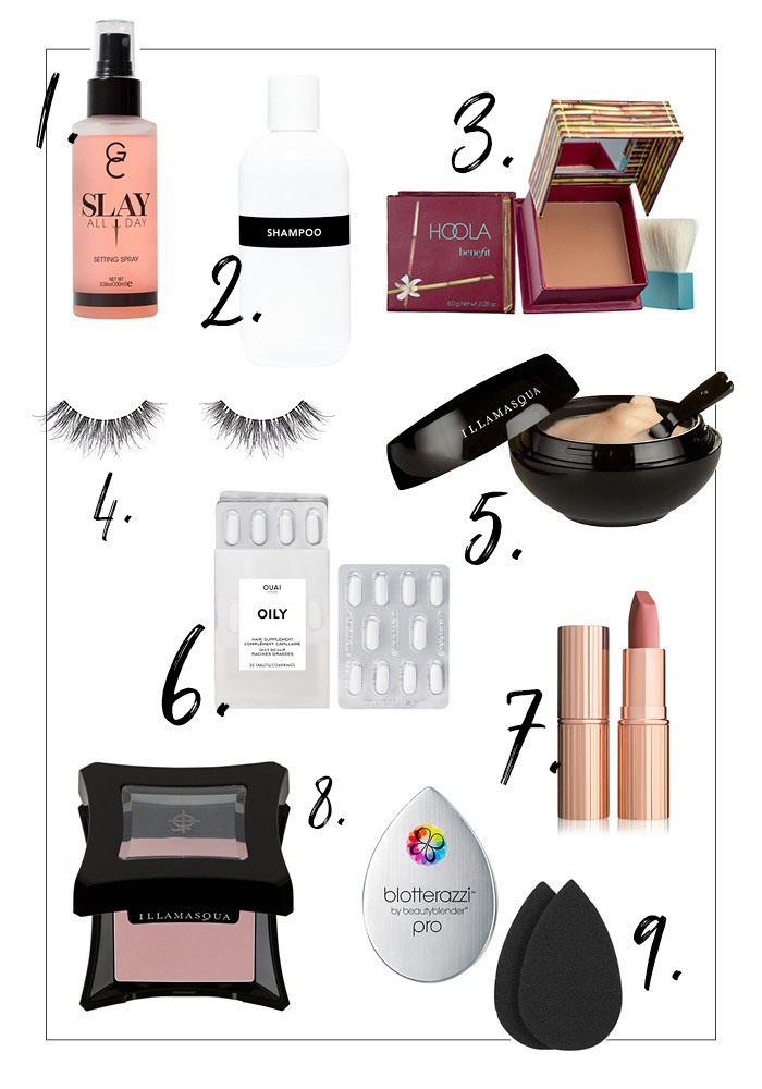 bridal beauty products for hair and make-up
