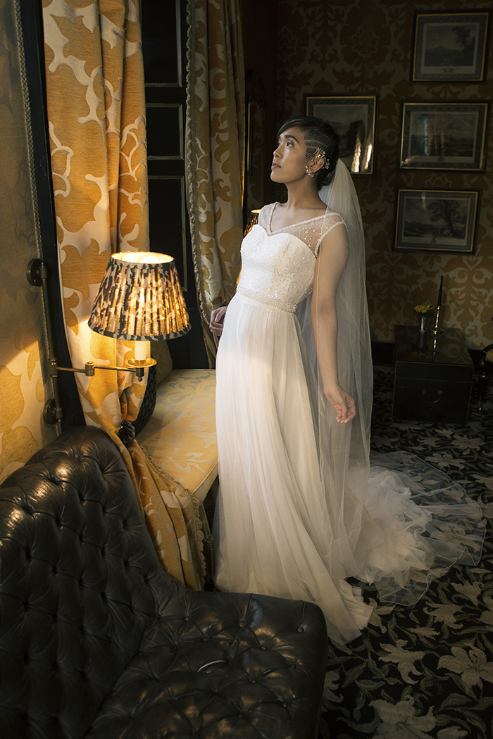 would you design your own wedding dress