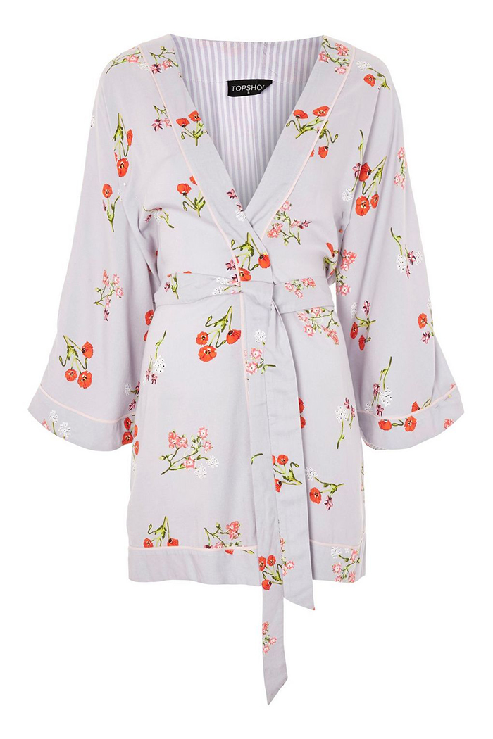 Stylish bride and bridesmaid dressing gowns Topshop