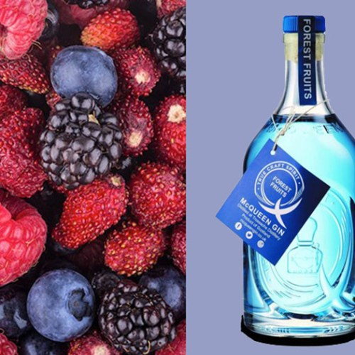 Aldi colour-changing gin