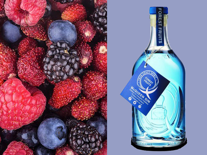 Aldi colour-changing gin